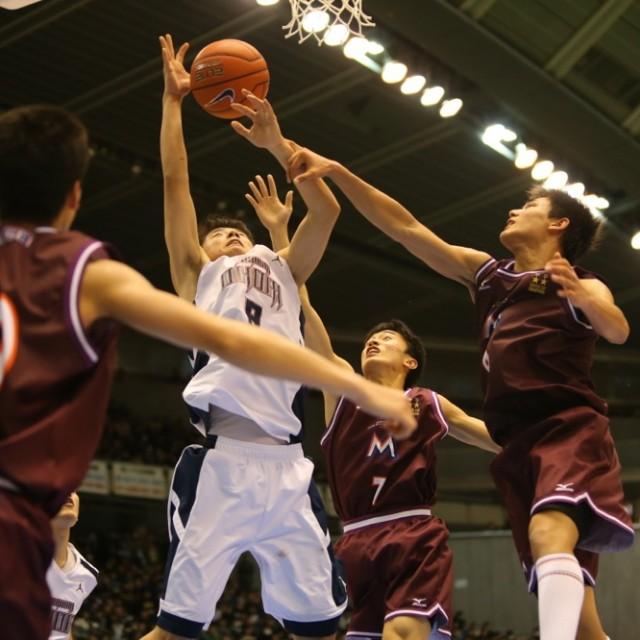 明成vs福岡大学附属大濠17